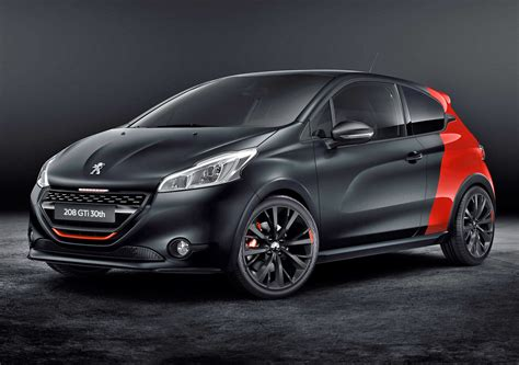 peugeot 208 gti 30th anniversary peugeot 208 gti 30th anniversary at goodwood fcia