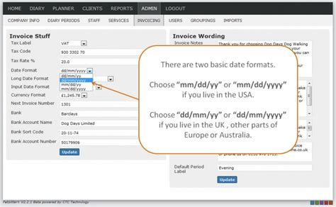 tester format date php help managing date formats petsitter plus wiki