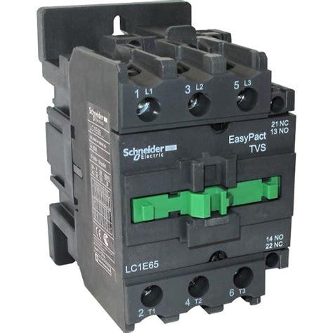 Schneider Kontaktor Lc1d18 contactor lc1e65m5 1no 1nc 65a 400v ac3 220v 50hz