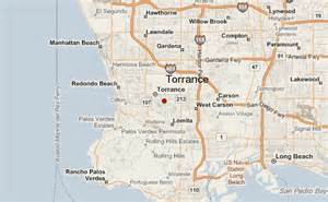torrance california map torrance location guide