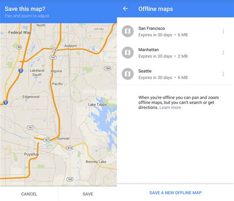 android offline maps how to save maps for offline use android central