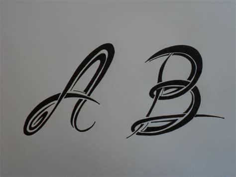 imagenes para dibujar tribales letras tribales a y b bases elementales para dibujar