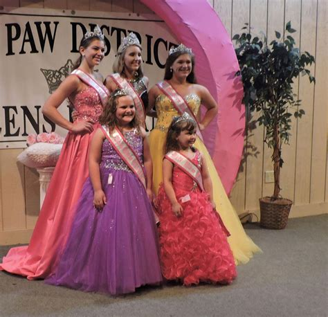 miss junior little miss junior miss pageants highlights of paw paw