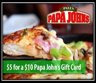 Papa Johns Gift Card - daily deals twin cities harvest festival maze papa john s