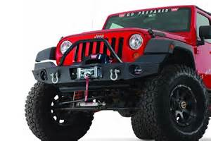 Jeep Elite Warn Elite Series Front Bumper For Jeep Jk