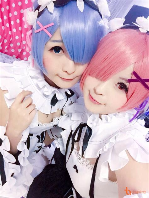 Wig Rem Blue Re Zero Kara Hajimeru Sekai Wig Cewek Oem world of cosplayer loluuuuuu characters rem