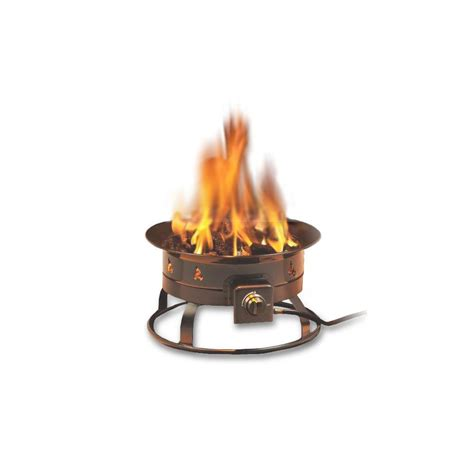 portable gas firepit portable propane gas pit 5995 the home depot