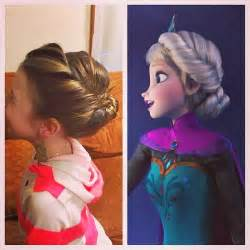 american freeze style hairdo popular diy crafts blog how to make elsa s disney frozen