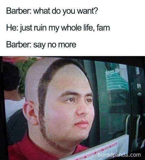 Say No More Meme - 25 terrible haircuts that were so bad they became say no