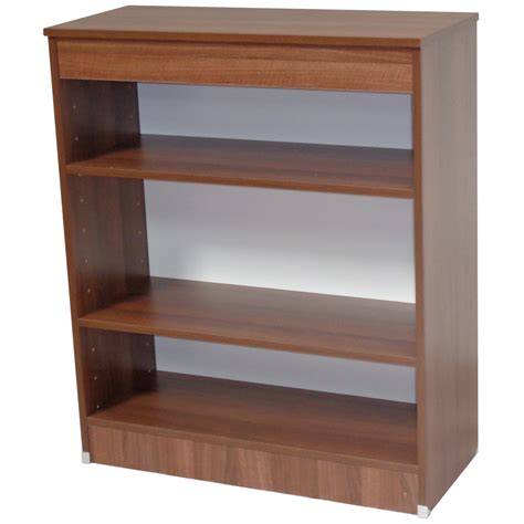 walnut small bookcase