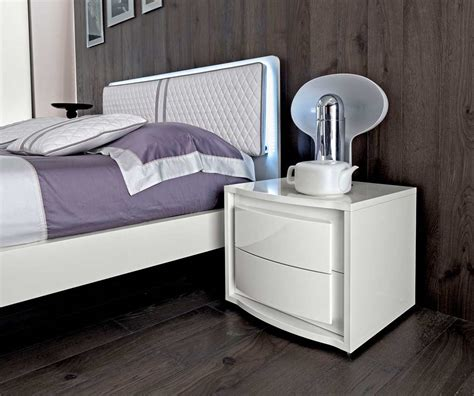 white lacquer bedroom set white lacquer bed ef dana modern bedroom furniture