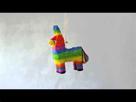 como hacer una pinata de burro pi 241 ata burro youtube