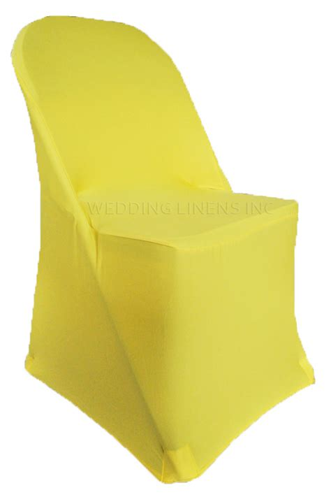 Yellow Chair Covers by Folding Canary Yellowspandex Chair Cover Stretch Folding