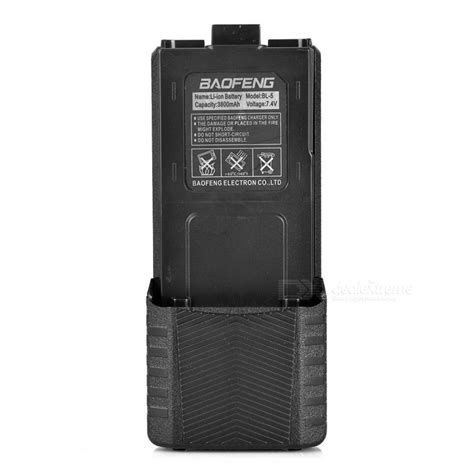 Taffware Walkie Talkie Extended Battery 3800mah Bl 5 For Baofeng baofeng bl 5l walkie talkie lengthened 3800mah li ion