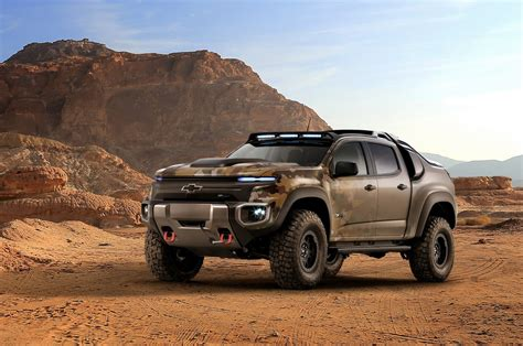 cars chevrolet chevy colorado zh2 concept makes hydrogen cars cool