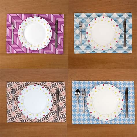 Sets De Table Tissu set de table tissu personnalis 233 set de table personnalis 233