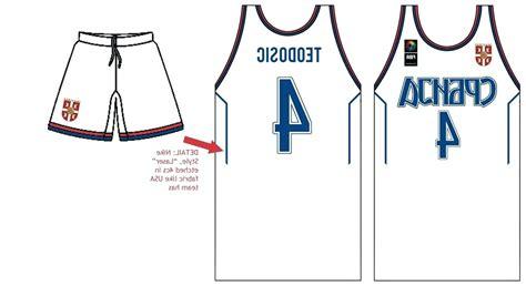 Baseball Jersey Template Vector