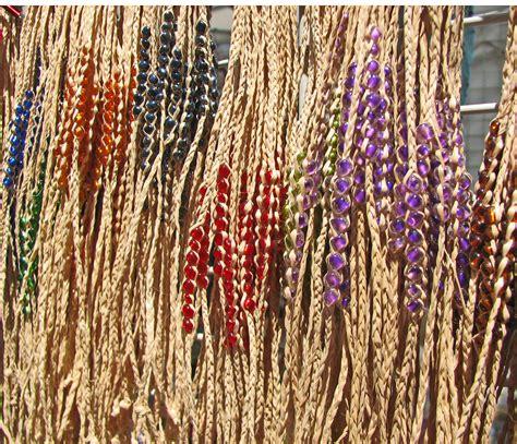History Of Macrame - file hemp and bead jewelry oakland chinatown fair