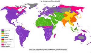 Religion Map Of The World wikipedia the difficulties of mapping world religions