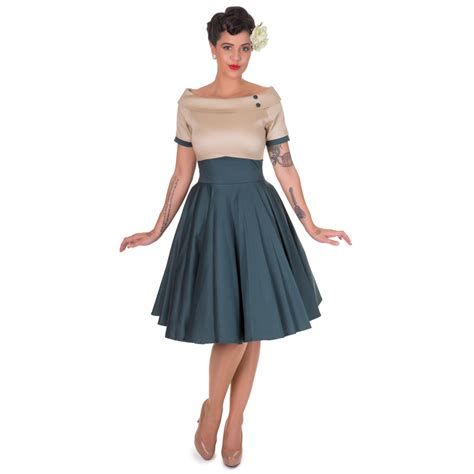 swing style mode dolly dotty 50er jahre rockabilly petticoat kleid