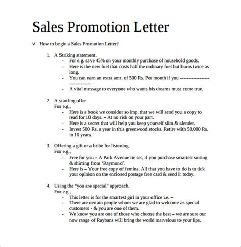 sample promotion letter templates ms