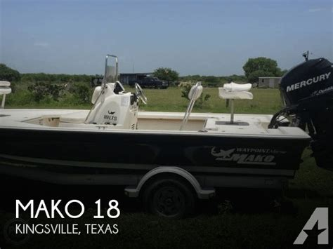 boats for sale in kingsville tx 2013 mako 18 for sale in kingsville texas classified