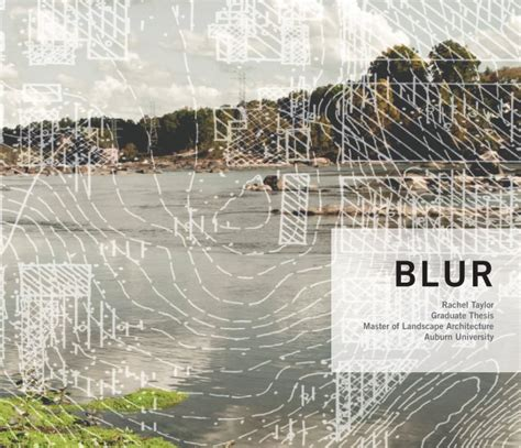 landscape architecture thesis blur a landscape architecture thesis by