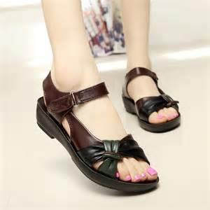 comfortable stylish flat shoes aliexpress buy 2015 summer shoes flat sandals