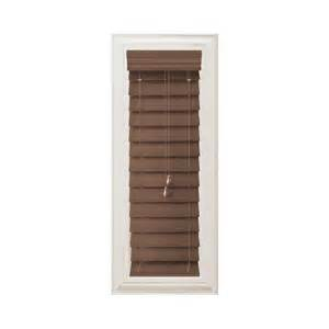 home decorators collection premium faux wood blinds home decorators collection cut to width maple brown 2 1