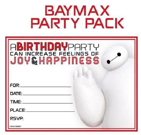 Name Tag Baymax Big 6 disney big 6 baymax birthday ideas pink lover