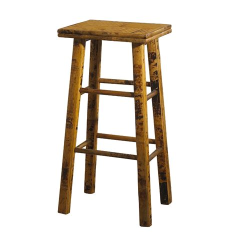 Bamboo Stools by Coastal Bamboo Counter Bar Stool Set Of 2 D 233 Cor Shop