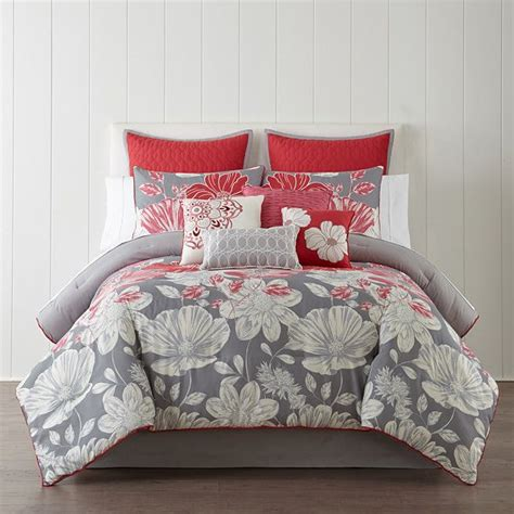 home expressions 10 pc comforter set jcpenney