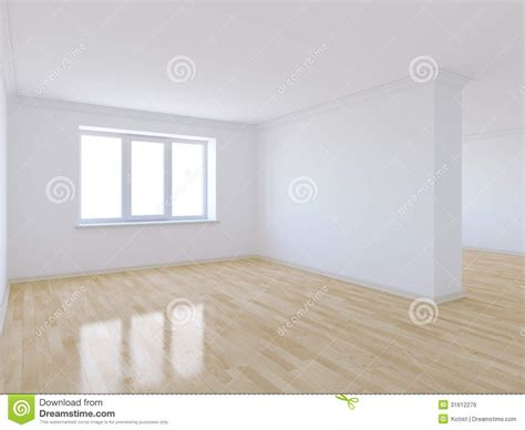 Empty Room With Wooden Floor Stock Illustration   Image