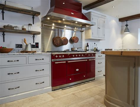 burgundy range lacanche citeaux finished in burgundy red lacanche range