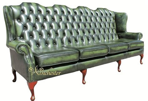 High Back Chesterfield Sofa High Back Wing Sofa Parchment Chesterfield 2 Seater High Back Wing Sofa Designersofas4u Thesofa
