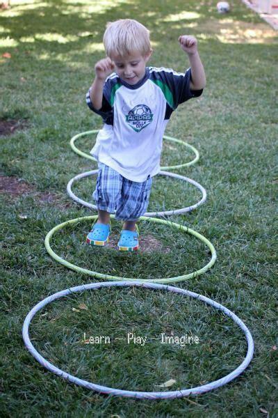 gross motor activity hula hoop games learn play