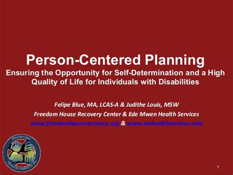 person centered planning for direct care employees