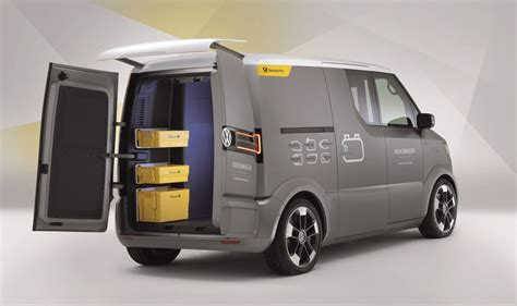 electric volkswagen van volkswagen et electric delivery van cars planet