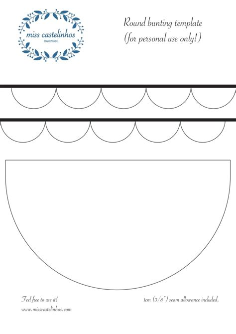 pattern allowances slideshare pattern round bunting