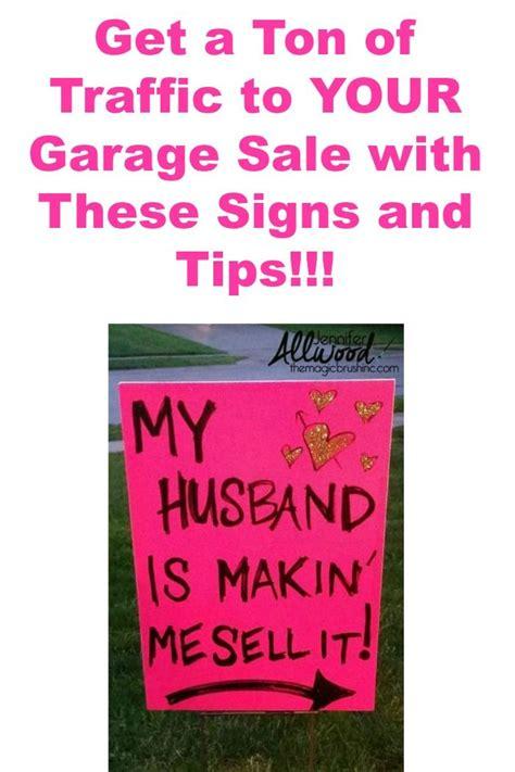 yard sale signs on pinterest