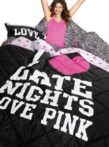 Prinsloo and victoria s secret pink 174 reversible comforter photograph