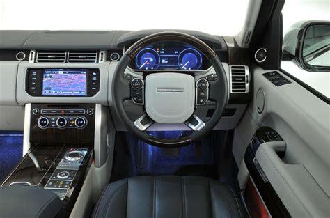 range rover dashboard range rover review 2018 autocar