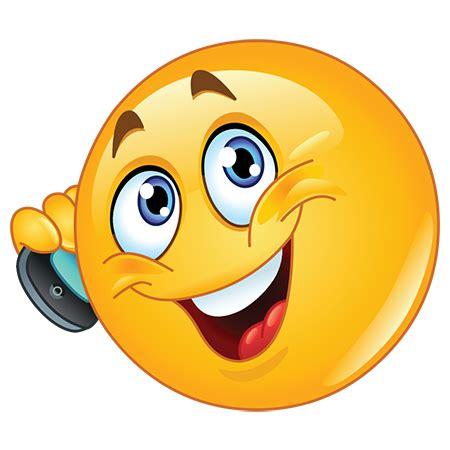 mobile emoticons on a call symbols emoticons