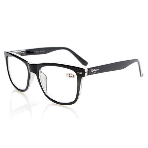 r080 eyekepper readers square large lenses hinges