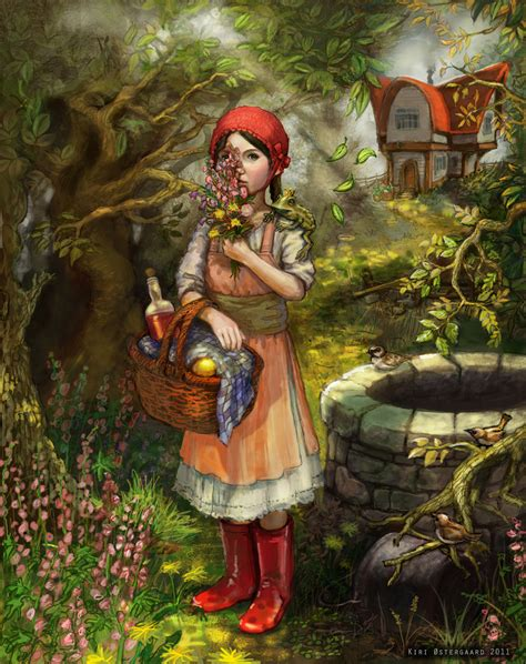 little red riding hood english fairy tale for kids youtube fairy tale illustration little red riding hood the art