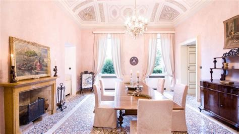 Cool Dining Rooms by George Clooney Considers Selling His Luxury Lake Como
