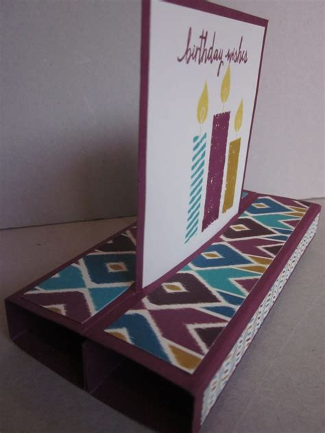 stin up card bohemian paper stand up card