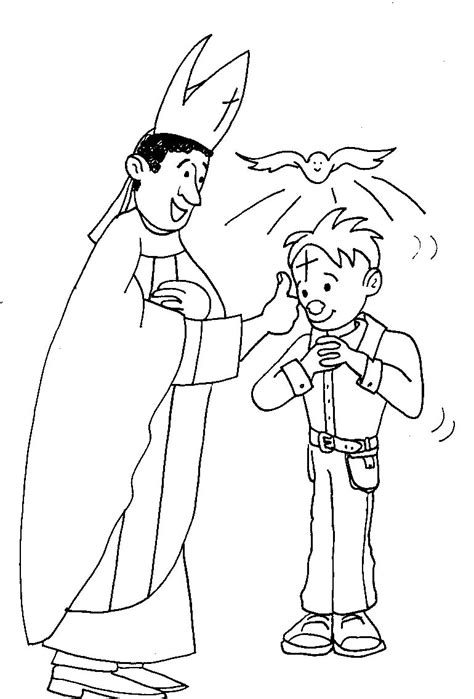 Confirmation Coloring Pages