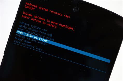 reset android cache hidasteleeko nexus kokeile v 228 limuistin cache