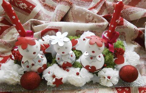 Decors De Table De Noel decoration de noel pour table facile
